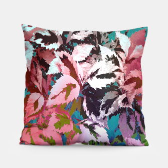 Thumbnail image of More Lovely Leaves Pillow, Live Heroes