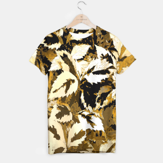 Miniatur More Lovely Leaves, Sienna T-shirt, Live Heroes