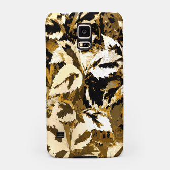 Miniatur More Lovely Leaves, Sienna Samsung Case, Live Heroes