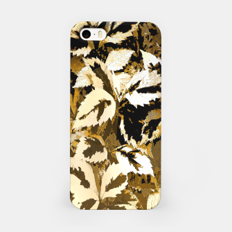 Miniatur More Lovely Leaves, Sienna iPhone Case, Live Heroes