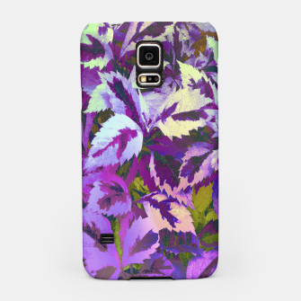 Thumbnail image of More Lovely Leaves, Purple Shades Samsung Case, Live Heroes