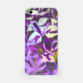 Thumbnail image of More Lovely Leaves, Purple Shades iPhone Case, Live Heroes