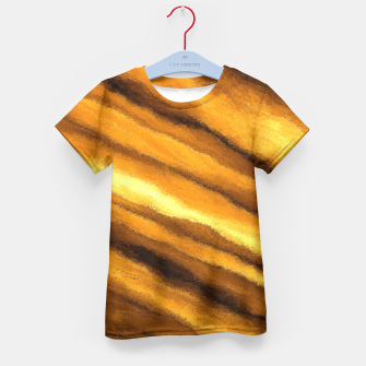 Thumbnail image of Soft, Amber Strands Kid's T-shirt, Live Heroes