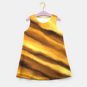 Thumbnail image of Soft, Amber Strands Girl's Summer Dress, Live Heroes