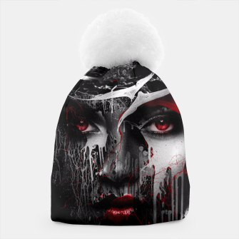 Thumbnail image of Red Eyes Beanie, Live Heroes