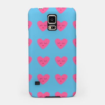 Thumbnail image of Valentines Heart Blue Samsung Case, Live Heroes