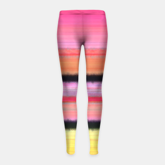 Thumbnail image of Brilliant Moment Girl's Leggings, Live Heroes