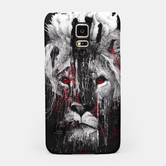 Thumbnail image of LION - RED EYE Samsung Case, Live Heroes