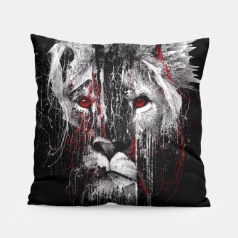 Thumbnail image of LION - RED EYE Pillow, Live Heroes