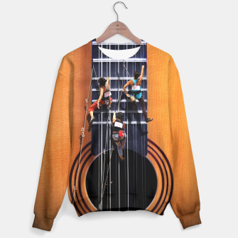 Miniature de image de Surreal Guitar Climbers Sweater, Live Heroes