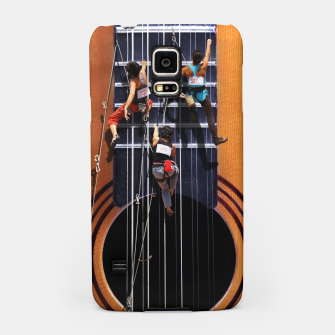 Miniatur Surreal Guitar Climbers Samsung Case, Live Heroes