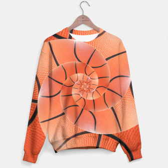 Miniatur Spiral Basketball Droste Sweater, Live Heroes