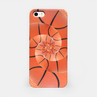 Miniatur Spiral Basketball Droste iPhone Case, Live Heroes