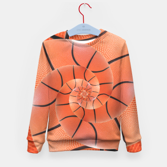Miniatur Spiral Basketball Droste Kid's Sweater, Live Heroes