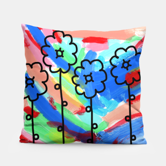 Thumbnail image of PEACE LOOKS LIKE THIS #19 Pillow, Live Heroes