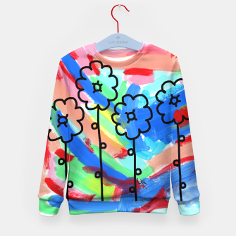 Thumbnail image of PEACE LOOKS LIKE THIS #19 Kid's Sweater, Live Heroes