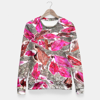 Thumbnail image of Softly Falling, Blush Fitted Waist Sweater, Live Heroes