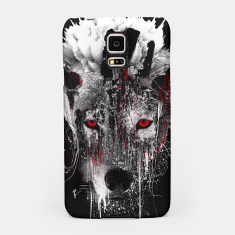 Thumbnail image of WOLF - RED EYE Samsung Case, Live Heroes