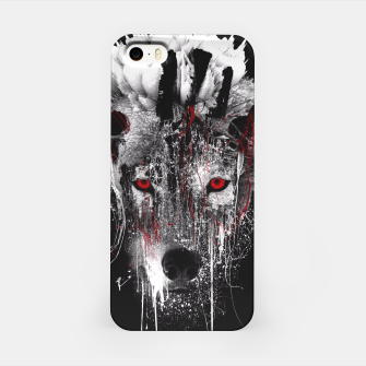 Thumbnail image of WOLF - RED EYE iPhone Case, Live Heroes