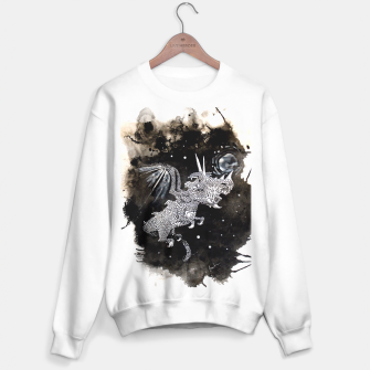 Thumbnail image of Moon dragon Sweater regular, Live Heroes
