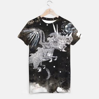 Thumbnail image of Moon dragon T-shirt, Live Heroes