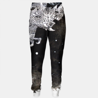 Thumbnail image of Moon dragon Sweatpants, Live Heroes