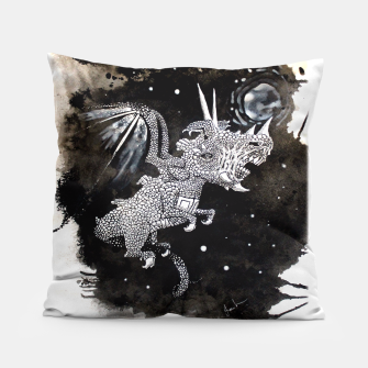 Thumbnail image of Moon dragon Pillow, Live Heroes