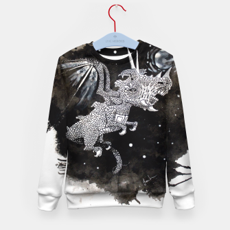 Thumbnail image of Moon dragon Kid's Sweater, Live Heroes