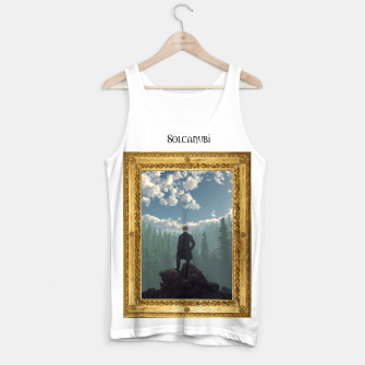 Miniatur Wanderer above the Sea of Cubes Tank Top, Live Heroes