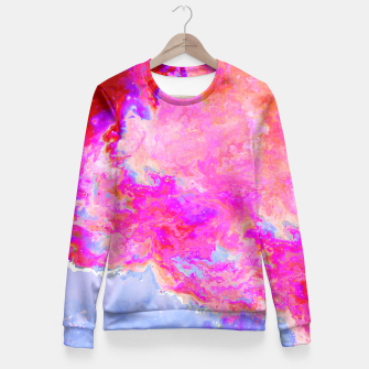 Thumbnail image of Rose Nebula Fitted Waist Sweater, Live Heroes