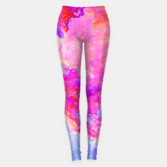 Thumbnail image of Rose Nebula Leggings, Live Heroes