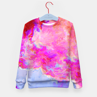 Thumbnail image of Rose Nebula Kid's Sweater, Live Heroes
