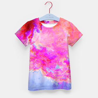 Thumbnail image of Rose Nebula Kid's T-shirt, Live Heroes
