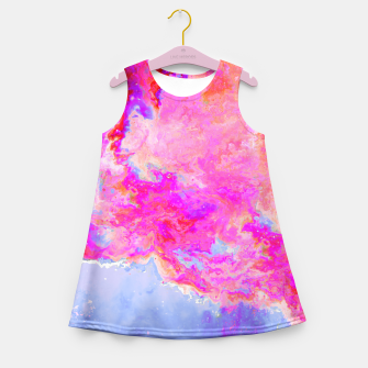 Thumbnail image of Rose Nebula Girl's Summer Dress, Live Heroes