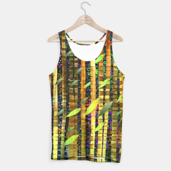 Thumbnail image of Green Jungle Breeze Tank Top, Live Heroes