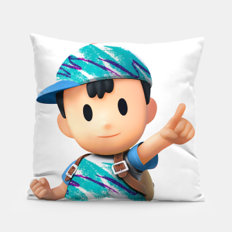 Thumbnail image of Ness with Solo Jazz Design Pillow, Live Heroes