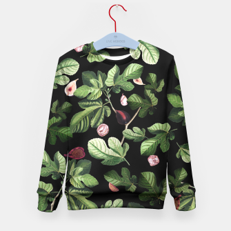 Thumbnail image of Figs black Kids Sweater, Live Heroes