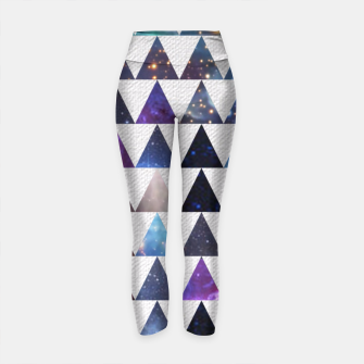Thumbnail image of Space Pattern Yoga Pants, Live Heroes