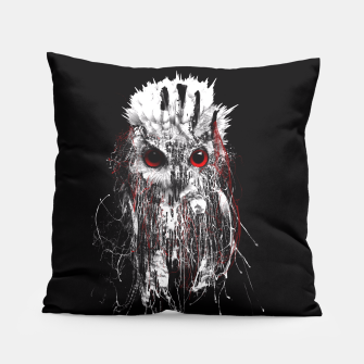 Thumbnail image of OWL - RED EYE Pillow, Live Heroes