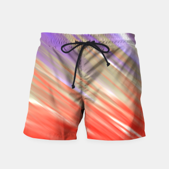 Crimson Aurora Swim Shorts thumbnail image