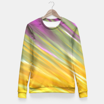 Thumbnail image of Golden Aurora Fitted Waist Sweater, Live Heroes