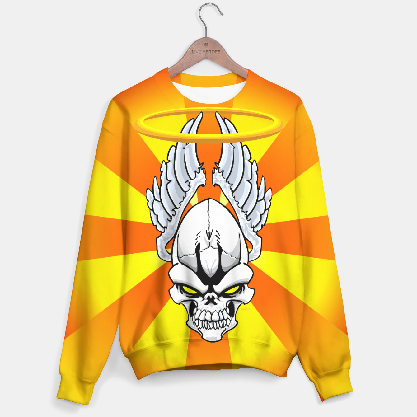 Image of Death Angle Sweater - Live Heroes