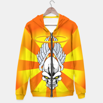 Thumbnail image of Death Angle Hoodie, Live Heroes