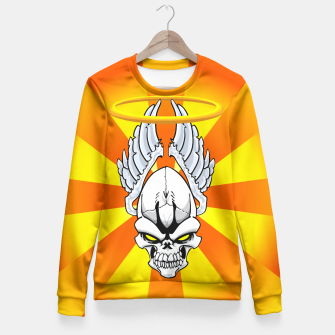 Thumbnail image of Death Angle Fitted Waist Sweater, Live Heroes
