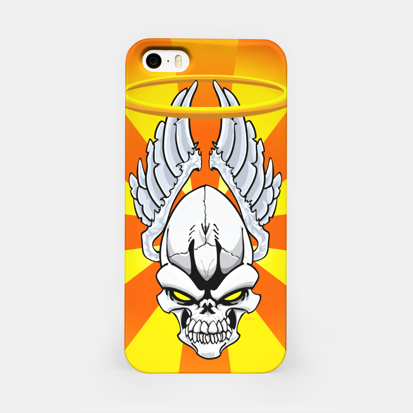 Image of Death Angle iPhone Case - Live Heroes