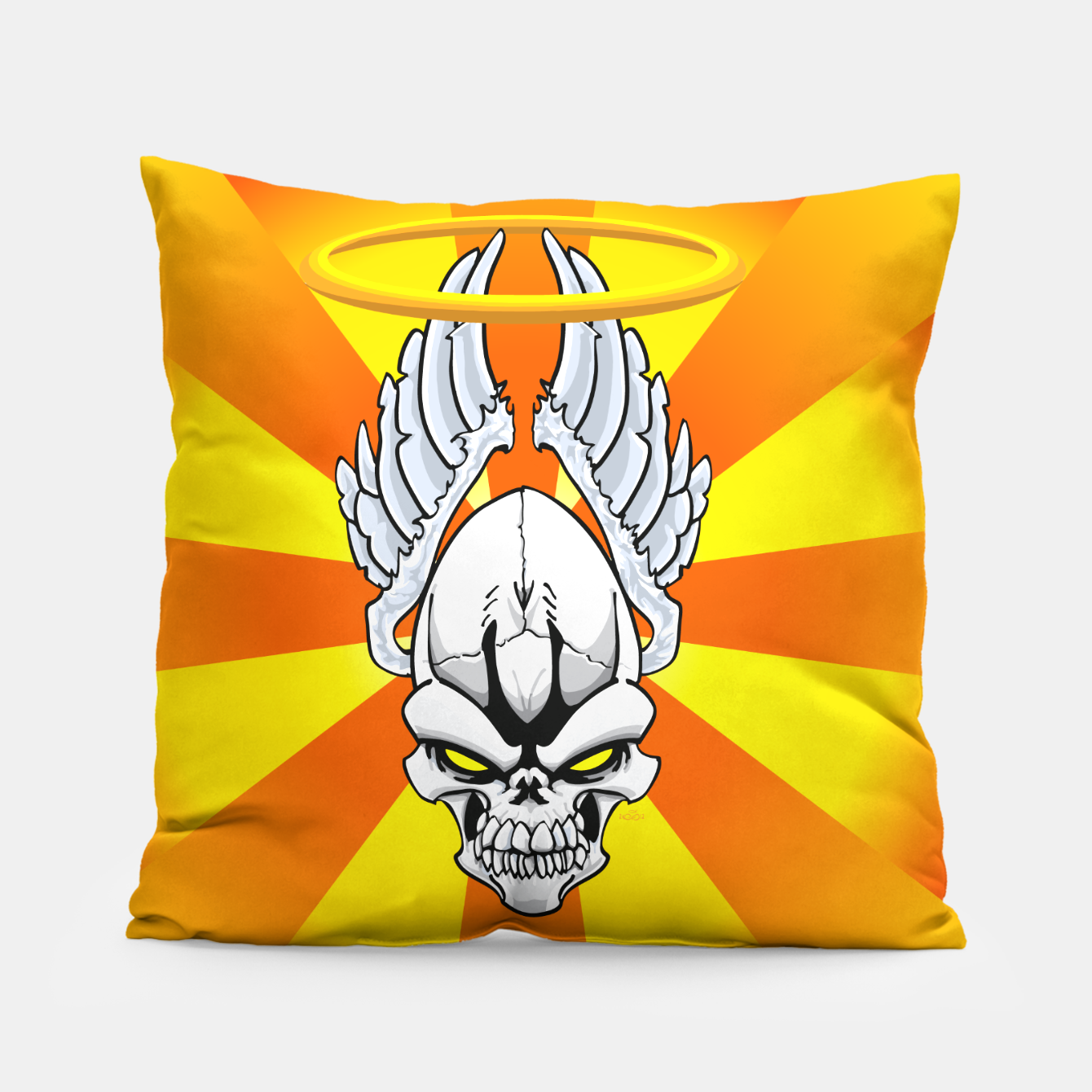 Image of Death Angle Pillow - Live Heroes