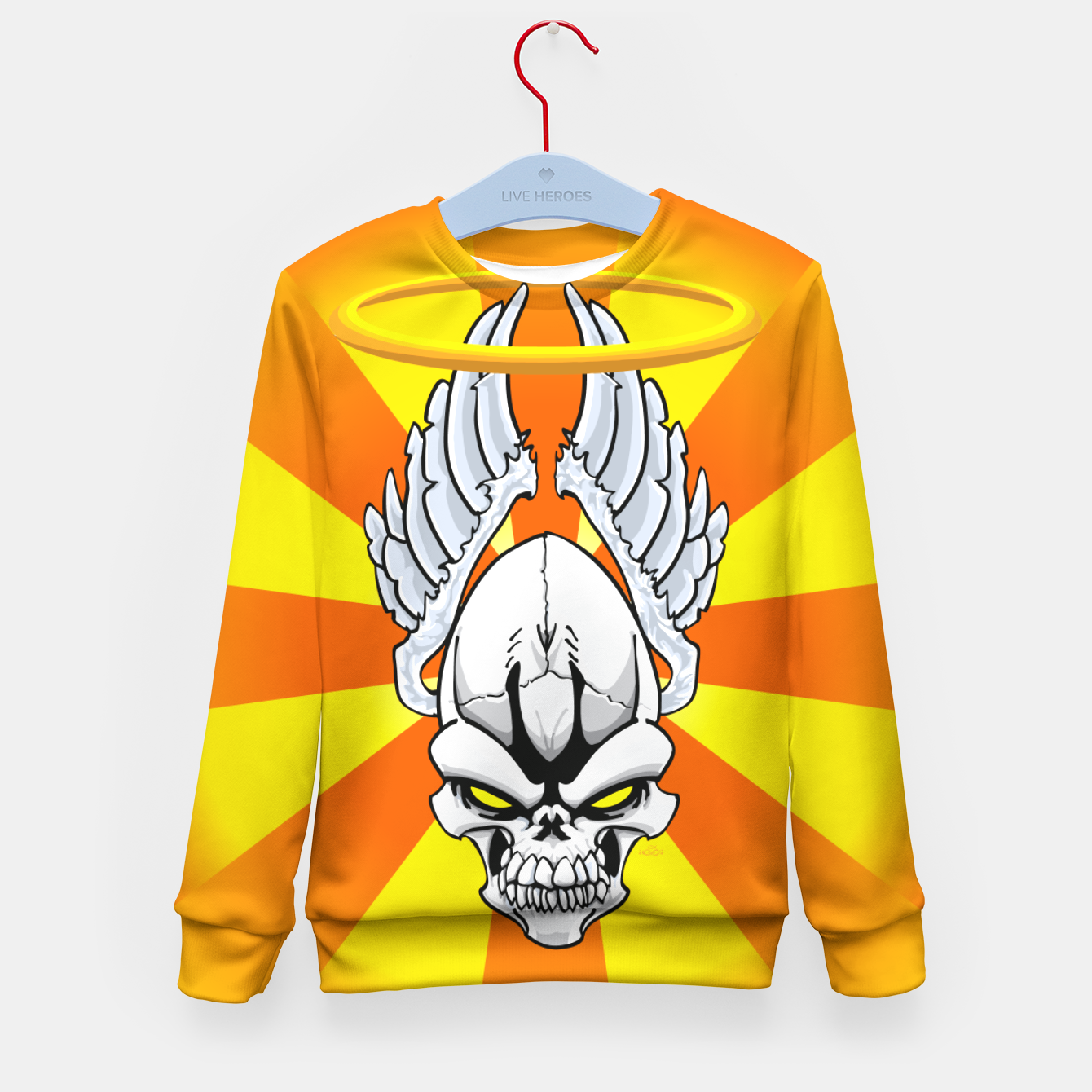 Image of Death Angle Kid's Sweater - Live Heroes