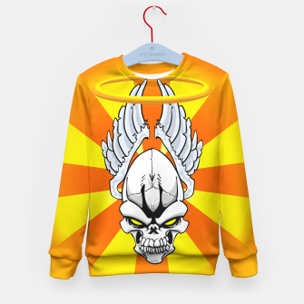 Thumbnail image of Death Angle Kid's Sweater, Live Heroes