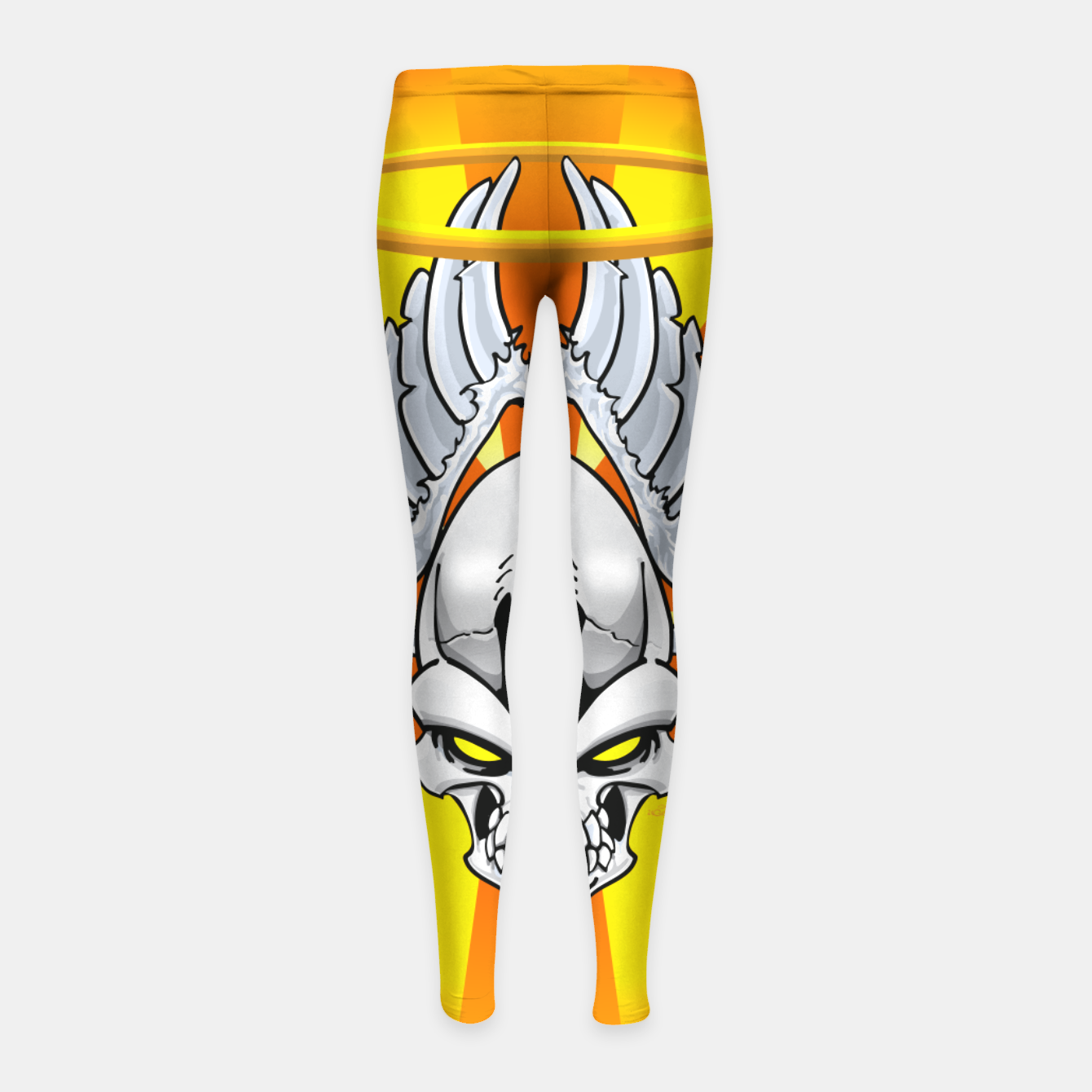 Image of Death Angle Girl's Leggings - Live Heroes