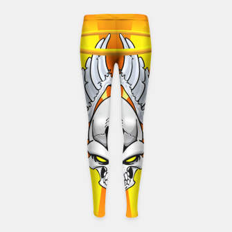 Thumbnail image of Death Angle Girl's Leggings, Live Heroes